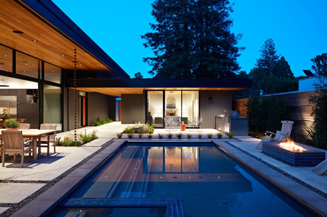 Glass Wall House by Klopf Architecture 04