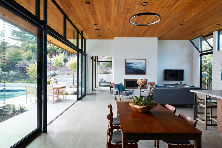Glass Wall House by Klopf Architecture 05