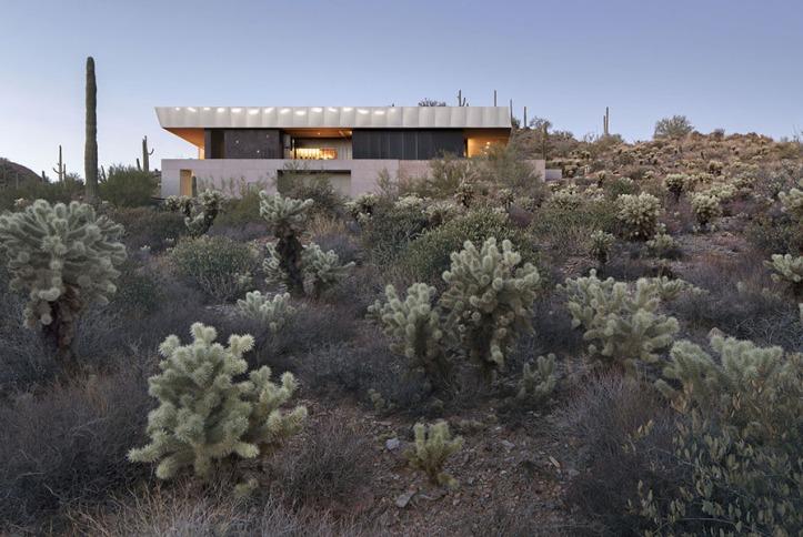 Hidden Vallery Desert House by Wendell Burnette Architects01