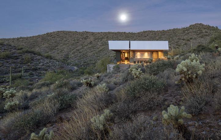 Hidden Vallery Desert House by Wendell Burnette Architects05