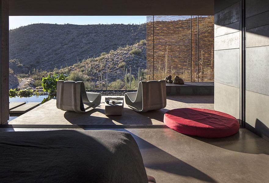 Hidden Vallery Desert House by Wendell Burnette Architects07