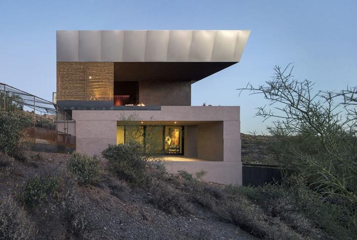 Hidden Vallery Desert House by Wendell Burnette Architects08