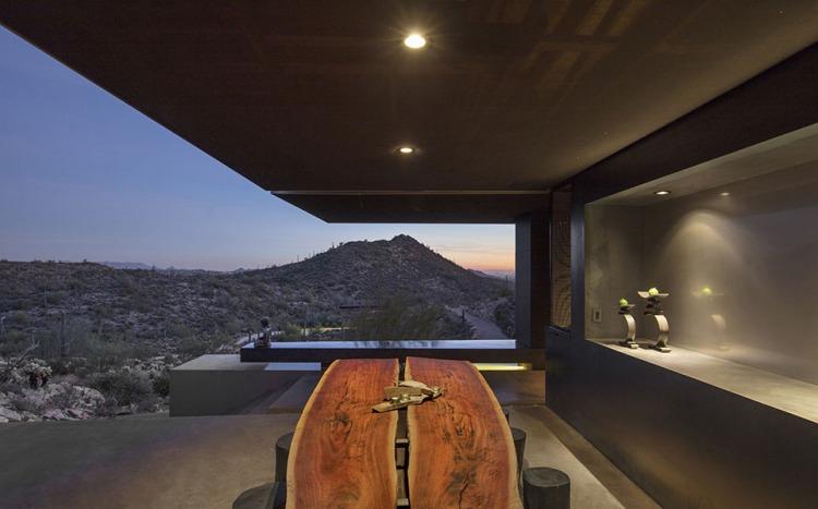 Hidden Vallery Desert House by Wendell Burnette Architects11