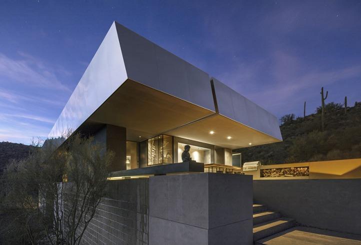 Hidden Vallery Desert House by Wendell Burnette Architects12