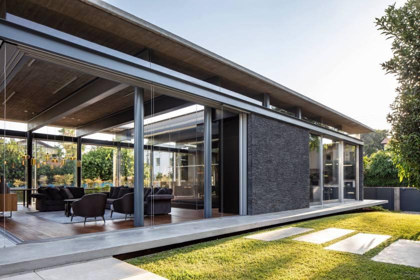 Pavilion House by Pitsou Kedem Architects 04