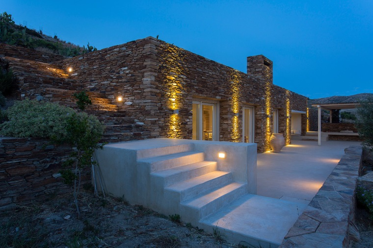 Summer House Under The Prickly Pears, Ios island, Greece GFRA Architecture-19