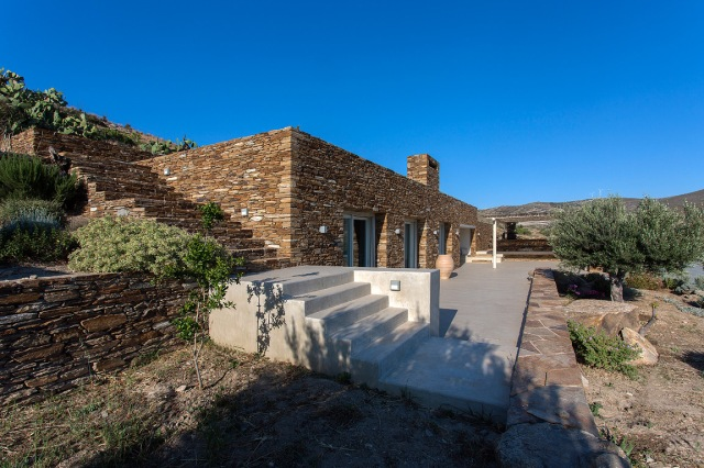 Summer House Under The Prickly Pears, Ios island, Greece GFRA Architecture-3