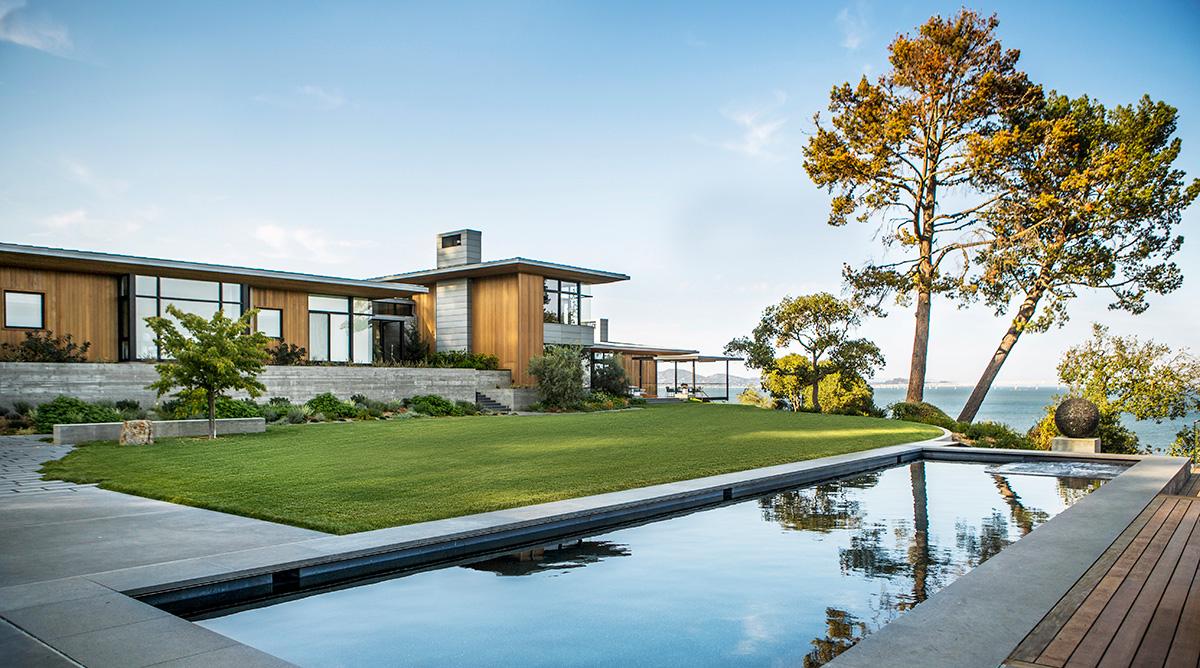 Tiburon Bay View Residence by Walker WarnerArchitects