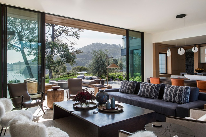 Tiburon Bay View Residence by Walker Warner Architects 19