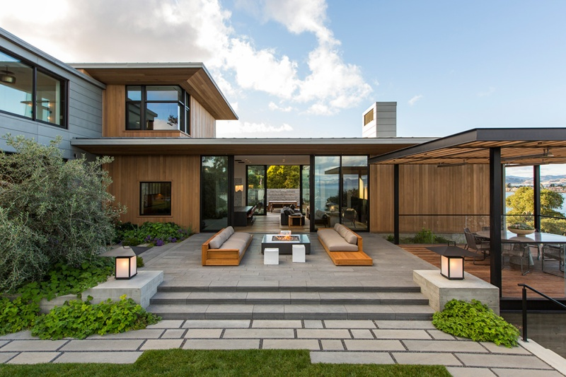 Tiburon Bay View Residence by Walker Warner Architects 2