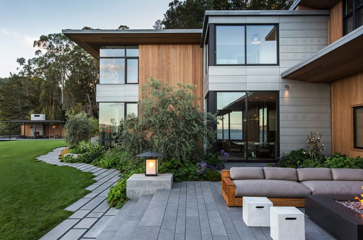 Tiburon Bay View Residence by Walker Warner Architects 22