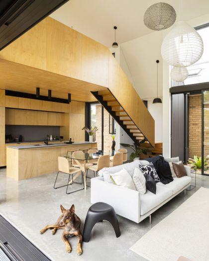 Binary House by Christopher Polly Architect 21