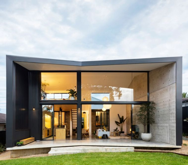 Binary House by Christopher Polly Architect 34