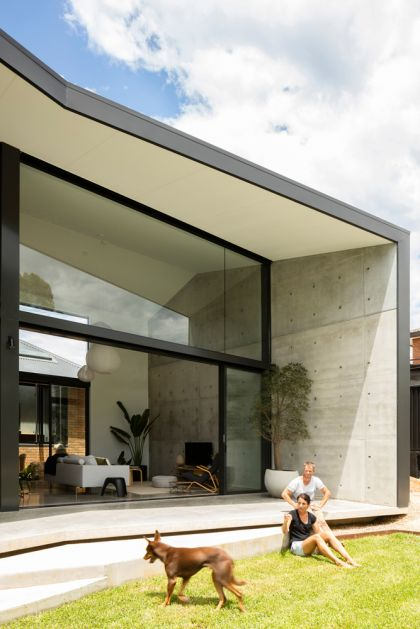 Binary House by Christopher Polly Architect 37