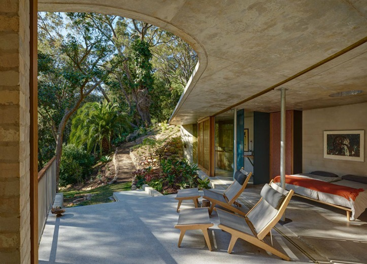 Cabbage Tree House by Peter Stutchbury Architecture 04