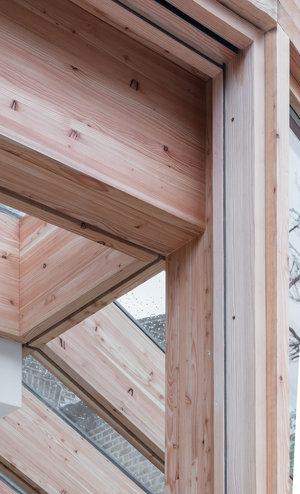 Larch House by Nicholas Szczepaniak Architects 12
