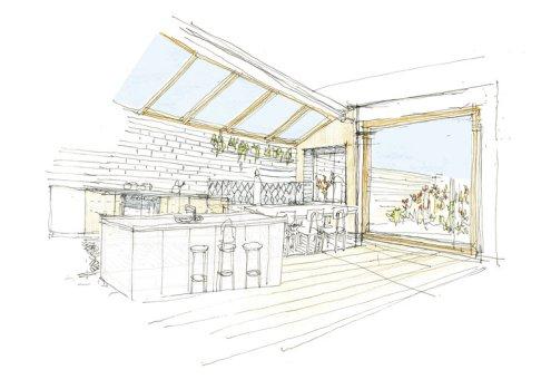 Larch House by Nicholas Szczepaniak Architects 16 Kitchen