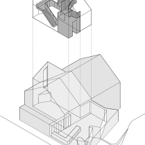 Modern Detached by Coffey Architects Diagram
