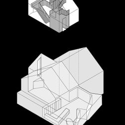 Modern Detached by Coffey Architects Diagram