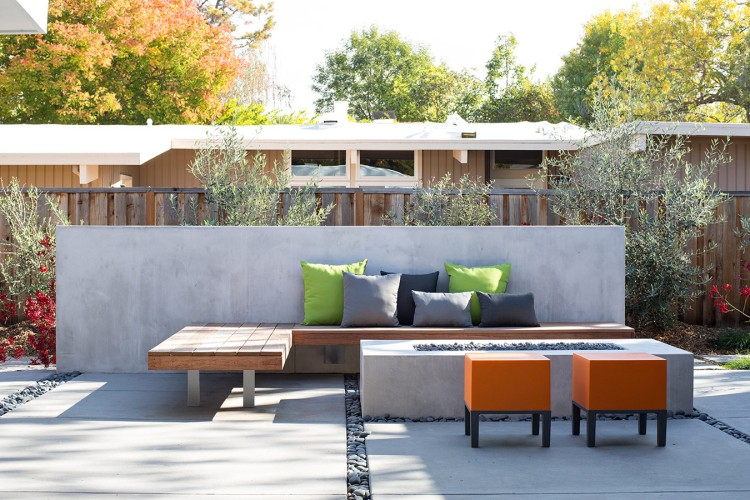 Truly Open Eichler House by Klopf Architecture 14