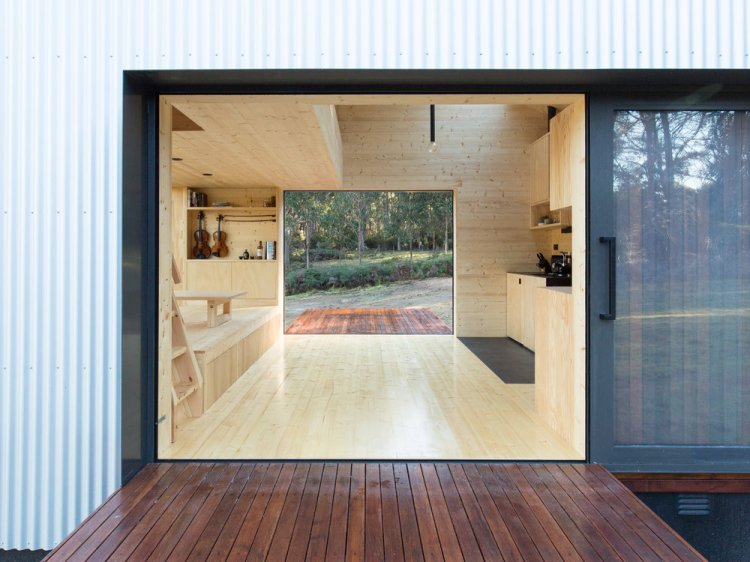 Bruny Island Hideaway by Maguire + Devine Architects 06