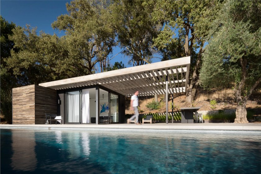Dry Creek Pool House by Ro Rockett Design 04
