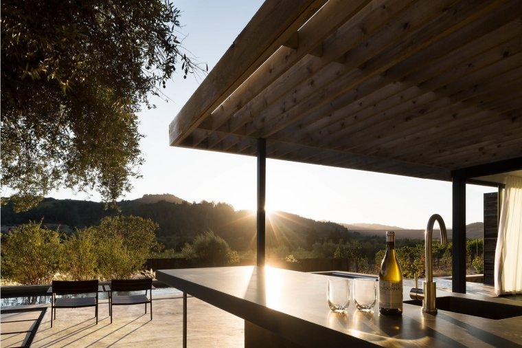 Dry Creek Pool House by Ro Rockett Design 10