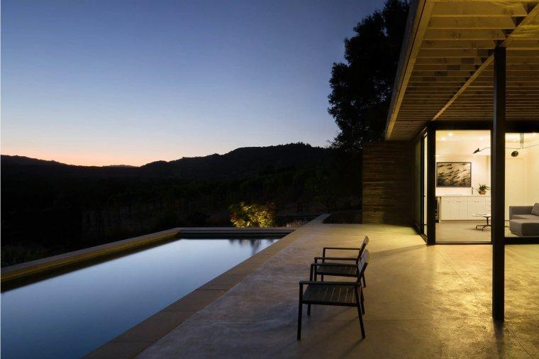 Dry Creek Pool House by Ro Rockett Design 12