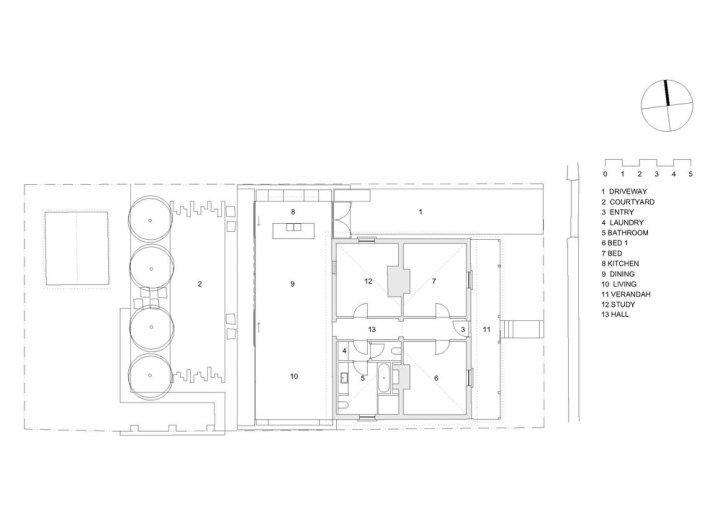 Jenny's House by Rosevear Stephenson Architects plan
