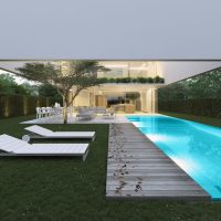 The house of the three trees by Gallardo Llopis Arquitectos