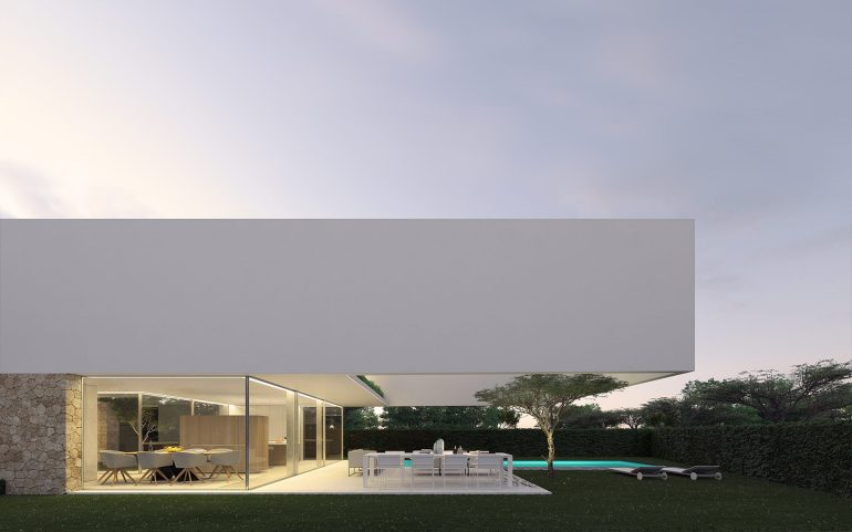 The house of the three trees by Gallardo Llopis Arquitectos 02