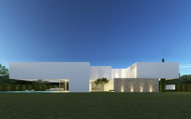 The house of the three trees by Gallardo Llopis Arquitectos 05
