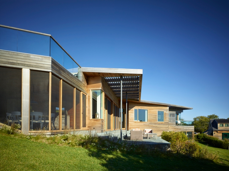 Vineyard Farm House by Charles Rose Architects 06