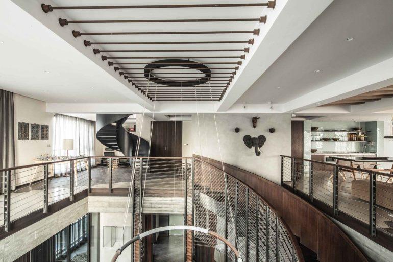 Xintiandi Penthouse by Joyce Wang Studio 06
