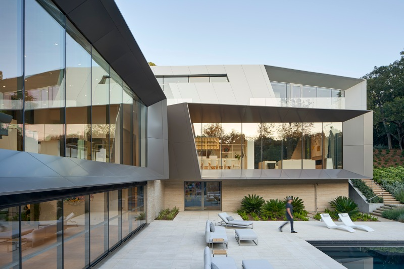 Bridge Residence by Belzberg Architects-10