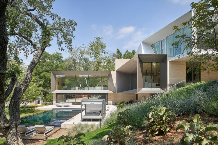 Bridge Residence by Belzberg Architects-11
