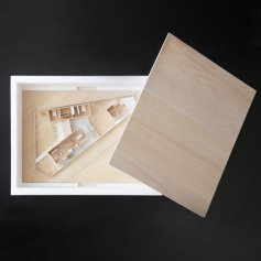 Three Piece House by TRIAS-01