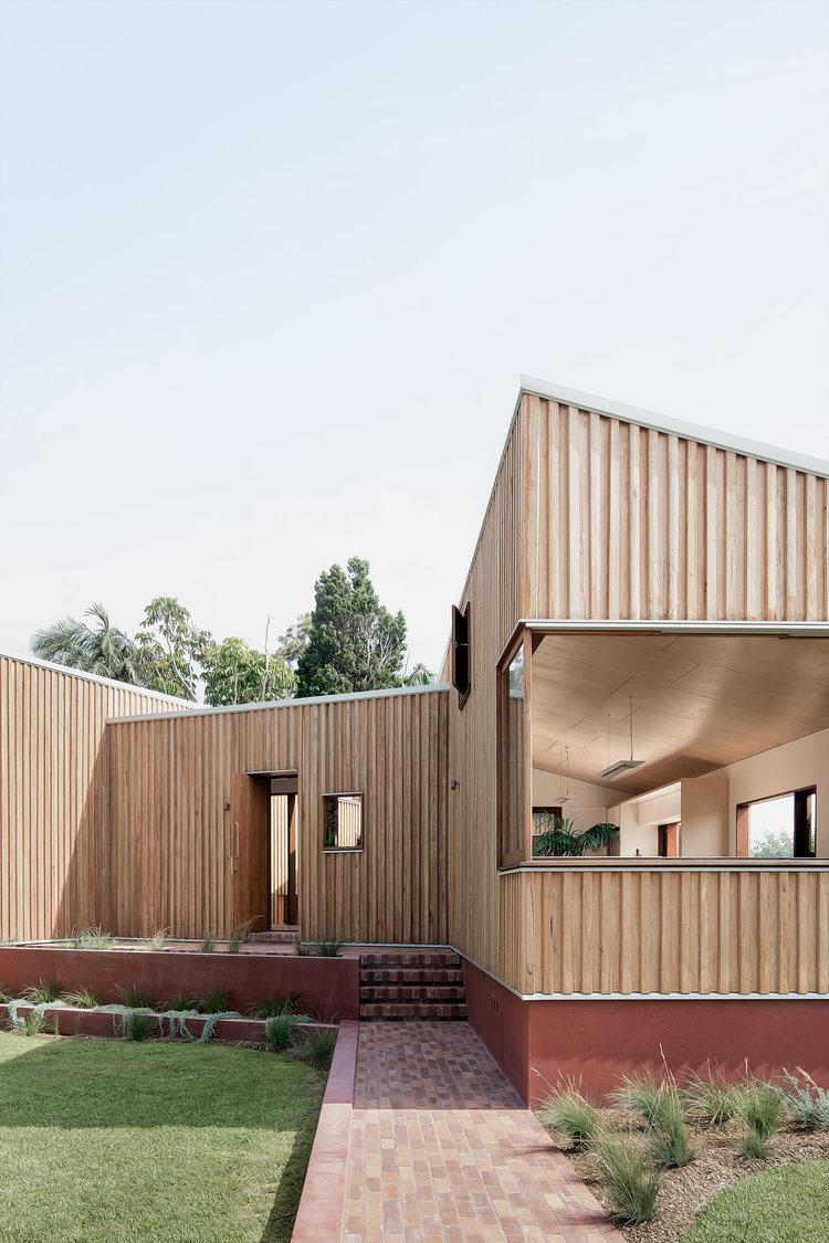 Three Piece House byTRIAS