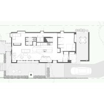 David Street House by Murray Legge Architecture_Plan+L1