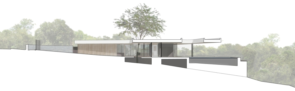 constant springs residence by alterstudio architecture-section
