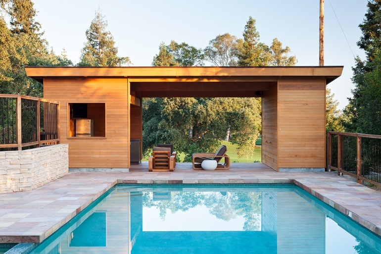 modern pool house by klopf architecture-2