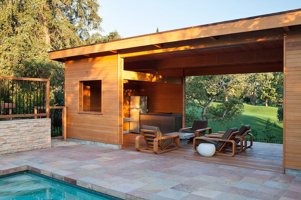 modern pool house by klopf architecture-3