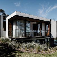 Two Angle House by Megowan Architectural