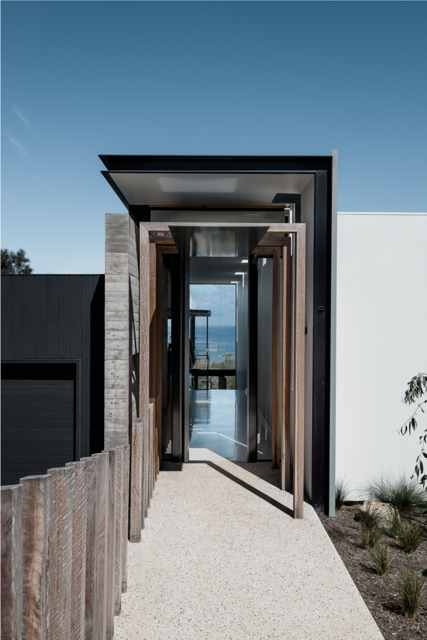 Two Angle House by Megowan Architectural -3